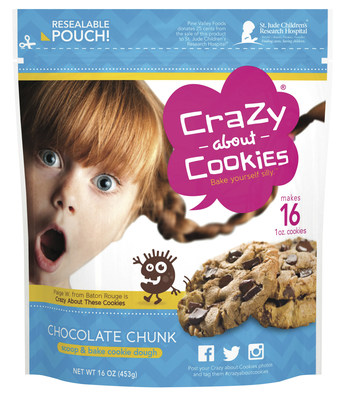 Crazy About Cookies Chocolate Chunk Cookie Dough Retail Stand-up Pouch