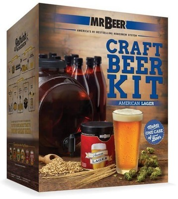 Mr beer launches 12 new kits to simplify craft beer for Craft beer brewing kit