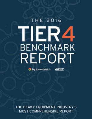 Penton's EquipmentWatch Releases 2016 Annual Tier 4 Benchmark Report