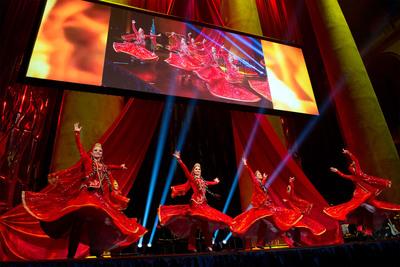 The Pearl of Azerbaijan dance group. (PRNewsFoto/Azerbaijan America Alliance) (PRNewsFoto/AZERBAIJAN AMERICA ALLIANCE)
