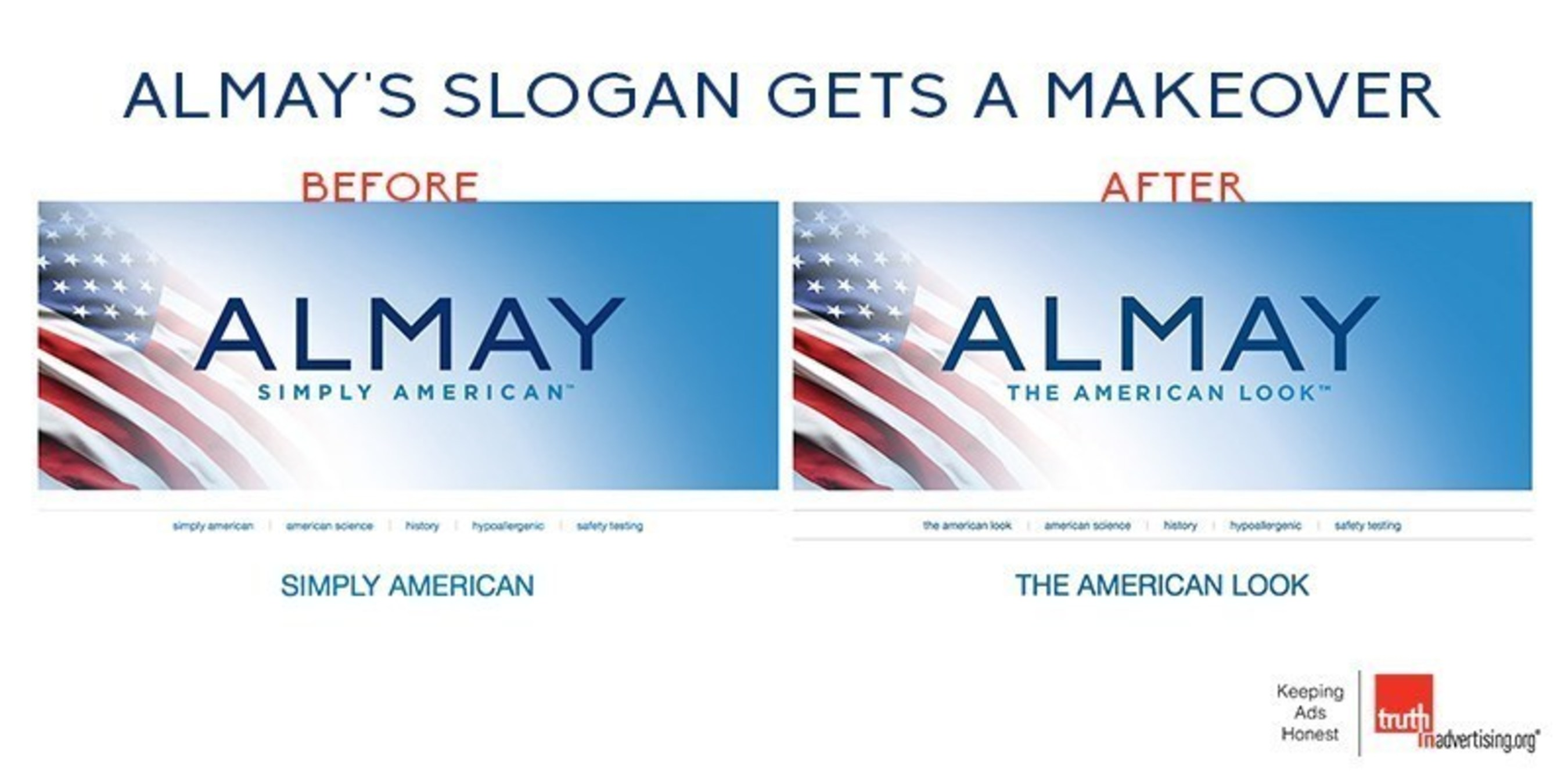 Almay's Slogan Gets a Makeover After Ad Watchdog TINA.org Files Complaint