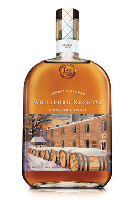 Woodford Reserve celebrates the holiday season with the release of its 2015 holiday bottle.  The limited edition Woodford Reserve holiday bottle features the artwork from Louisville, Kentucky, artist Thomas William Foerster.