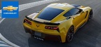 Whetting the appetites of customers about the arrival of the 2015 Corvette Z06 is just a small part of what customers of Chevrolet of Naperville can learn about the Corvette family. (PRNewsFoto/Chevrolet of Naperville)