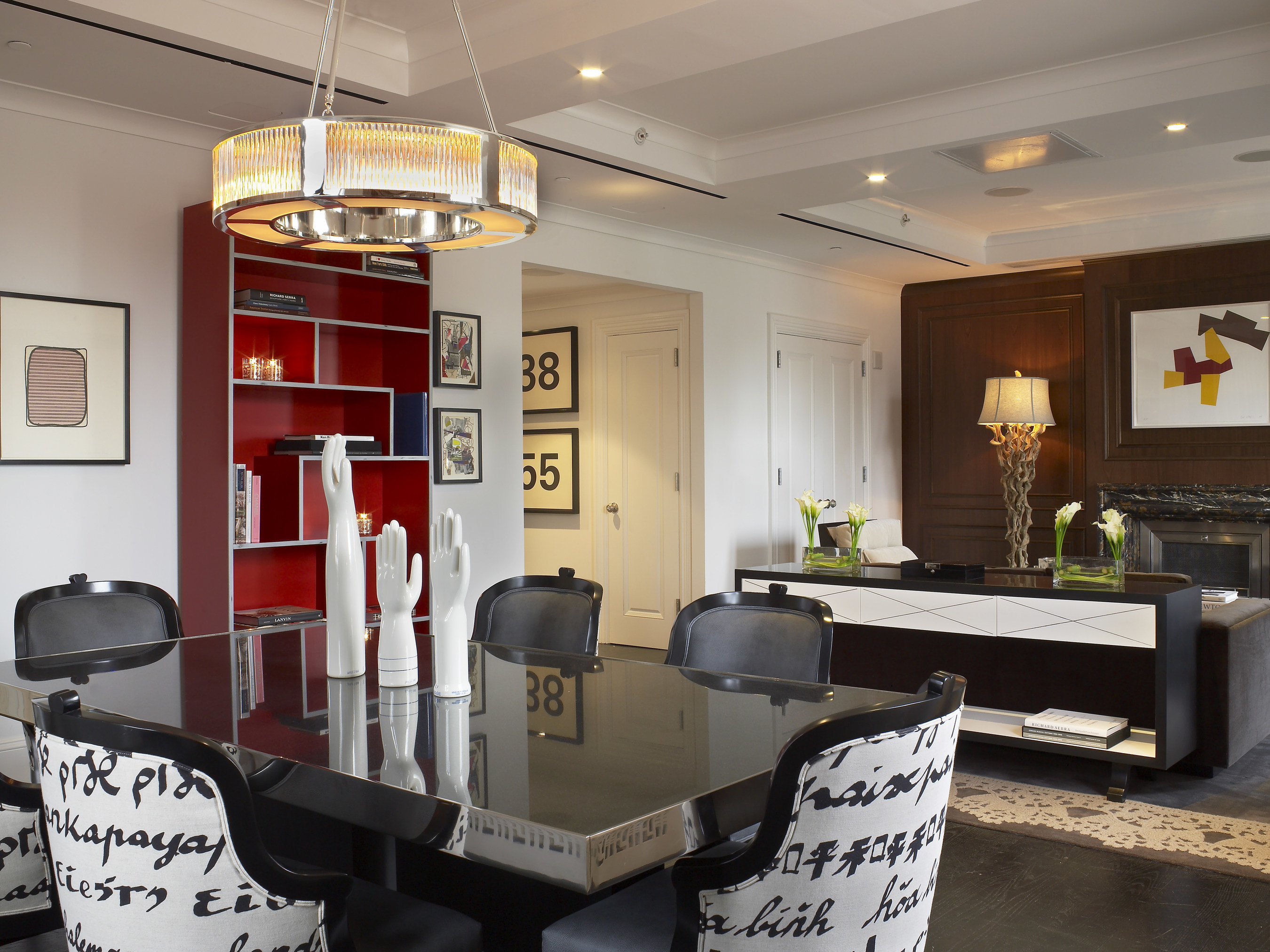 The Surrey's Penthouse Suite features a modern art collection and private rooftop access.