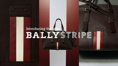 Bally introduces the new Stripe Capsule Collection.