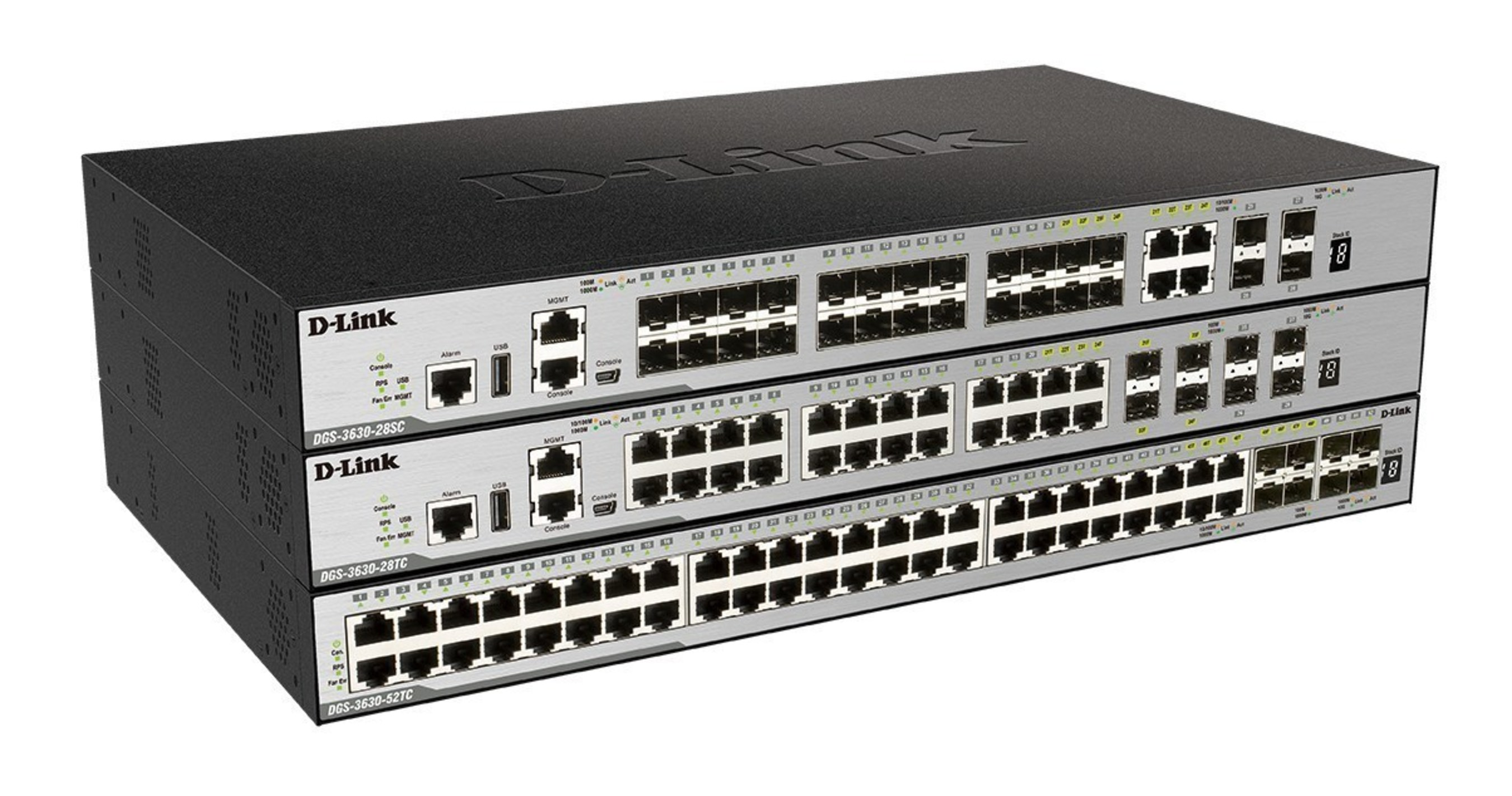 D-Links Next Generation Layer2+/Layer 3 Managed Gigabit Switches for Businesses of All Sizes