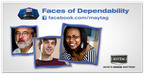 FACES OF DEPENDABILITY See stories + add to the gallery at facebook.com/maytag.  (PRNewsFoto/Maytag brand)