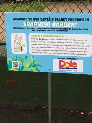Project Learning Garden Inauguration at Camden Street School in Newark, New Jersey