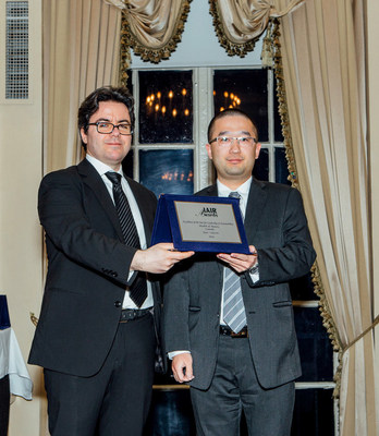 Aqua+ Skincare Awarded for Excellence of the Year for Leadership and Sustainability by IAIR