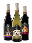 Chateau La Paws, the latest wine brand released from Diageo Chateau & Estate Wines (DC&E), launched today combining the company's love of dogs with delightful wines to create a delicious, easy drinking wine with a purpose. The mission is simple: wine lovers giving back to rescue dogs in need, helping them find a permanent chateau of their own.