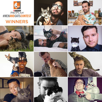 Purina Pro Plan(R) Announces Winners Of Men And Cats Photo Contest