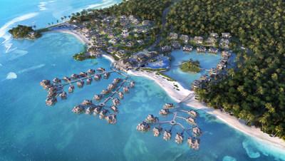 Overwater villas at Viceroy Bocas del Toro Panama