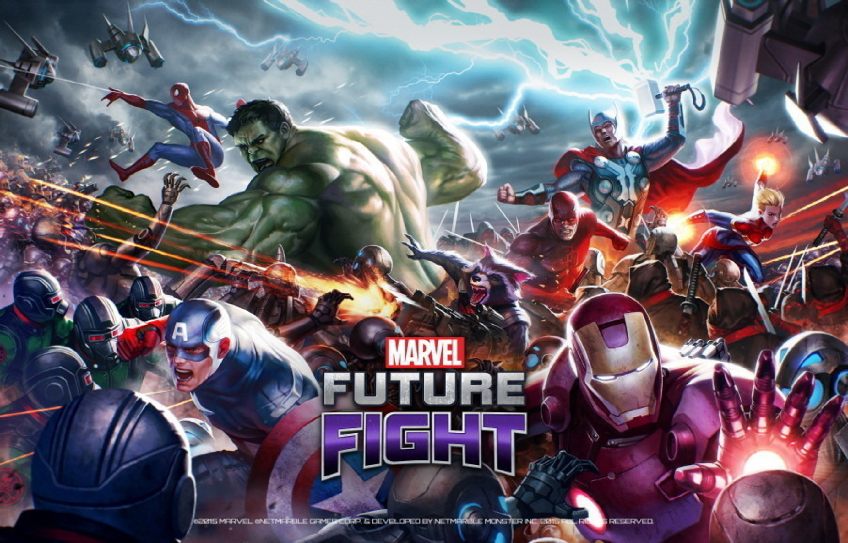 Gra Marvel Future Fight producenta Netmarble ma na koncie ponad 10 milionów pobrań na całym świecie