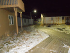 Northern Lights:  Evolucia Inc. Lights Aleutian Island Village of Akutan
