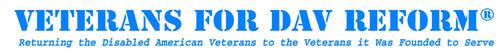 Veterans for DAV Reform Logo.  (PRNewsFoto/Veterans for DAV Reform)