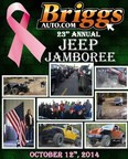 Jeep Drivers and enthusiasts are welcome at the Briggs Auto Jeep Jamboree. (PRNewsFoto/Briggs Auto)