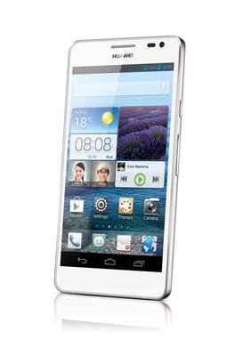 Huawei Launches Flagship Ascend D2 at CES 2013