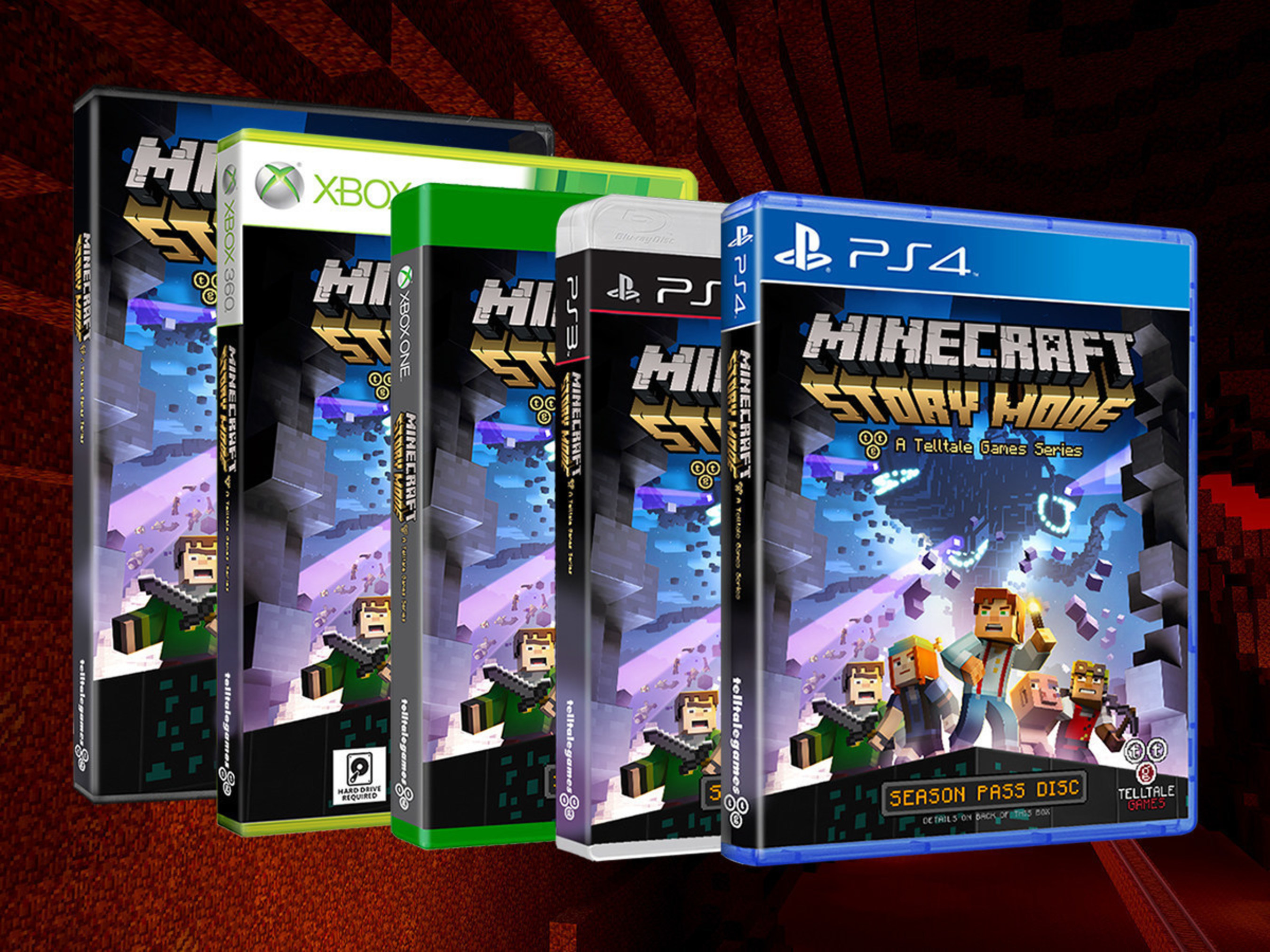 'Minecraft: Story Mode - A Telltale Games Series' Now Available in Stores