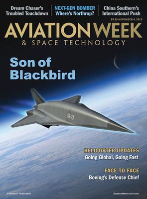 Lockheed Martin's Skunk Works Reveals Blackbird Successor in Exclusive Interview with Penton's Aviation Week. (PRNewsFoto/Penton) (PRNewsFoto/PENTON)