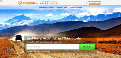 India's Activity Tourism Industry Gets Boost with New Booking Platform Thrillophilia.com