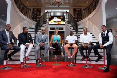 JB Smoove, Duane Martin, Boris Kodjoe, Lala Anthony, Kevin Hart, Nelly and Nick Cannon appear in the REAL HUSBANDS OF HOLLYWOOD: THE REUNION SPECIAL premiering Tuesday, May 28th at 10:00 P.M.* ET/PT on BET.  (PRNewsFoto/BET Networks)