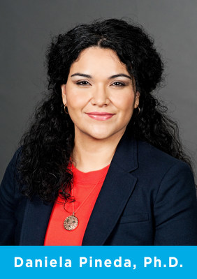 Daniela Pineda, Ph.D., Vice President for Integration and Learning