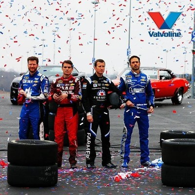 "Valvoline(TM) Teams Up with Hendrick Motorsports Drivers to Test DIYers on ""What's Under the Hood?"""