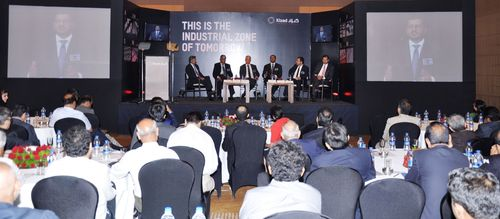 Full house at Kizad industrial forum, Mumbai, as new India office is launched. (PRNewsFoto/Kizad)