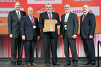 MetoKote Corporation receives Honda Performance Award at 16th Annual American Honda Service Parts Supplier Conference in Toronto, Canada (PRNewsFoto/MetoKote Corporation)