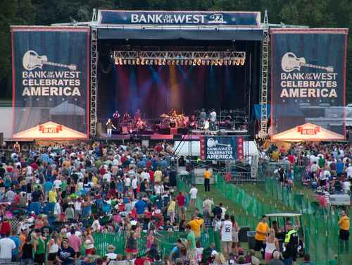 Bank of the West Celebrates America. (PRNewsFoto/Bank of the West)