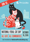 Alley Cat Allies Announces 2016 National Feral Cat Day® Theme