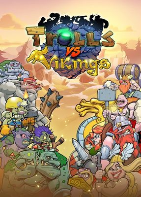 Trolls vs Vikings, Debut Game from Startup Indie Developer Founded by Former Funcom and Artplant Veterans (PRNewsFoto/Megapop Games)