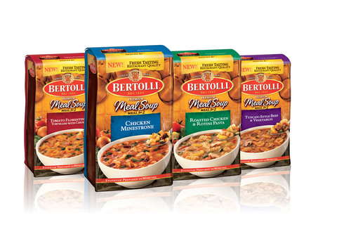 Bertolli(R) launches its latest restaurant-inspired product offering - New Bertolli(R) Premium Meal Soups for ...