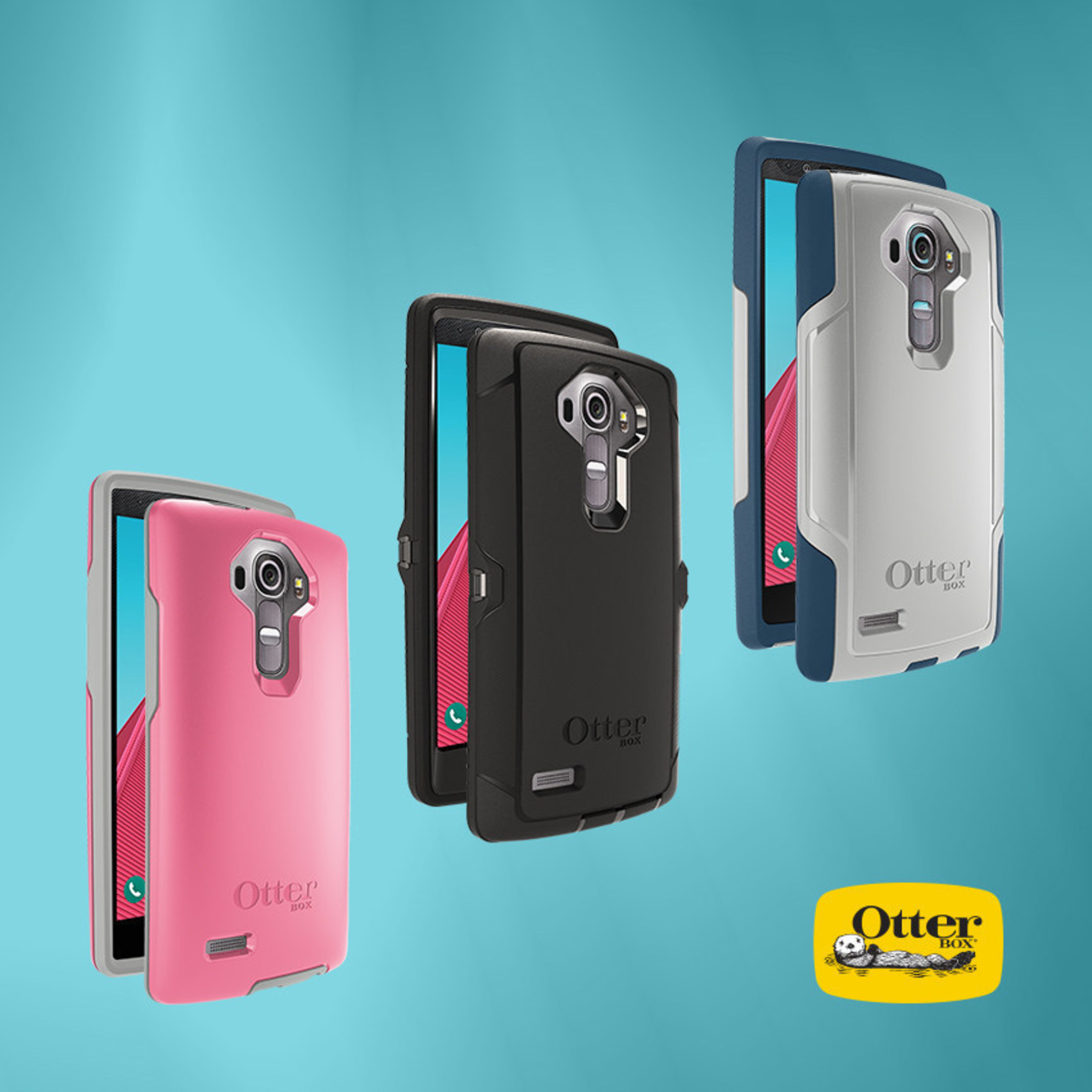 OtterBox makes the case for LG G4, available now on otterbox.com.