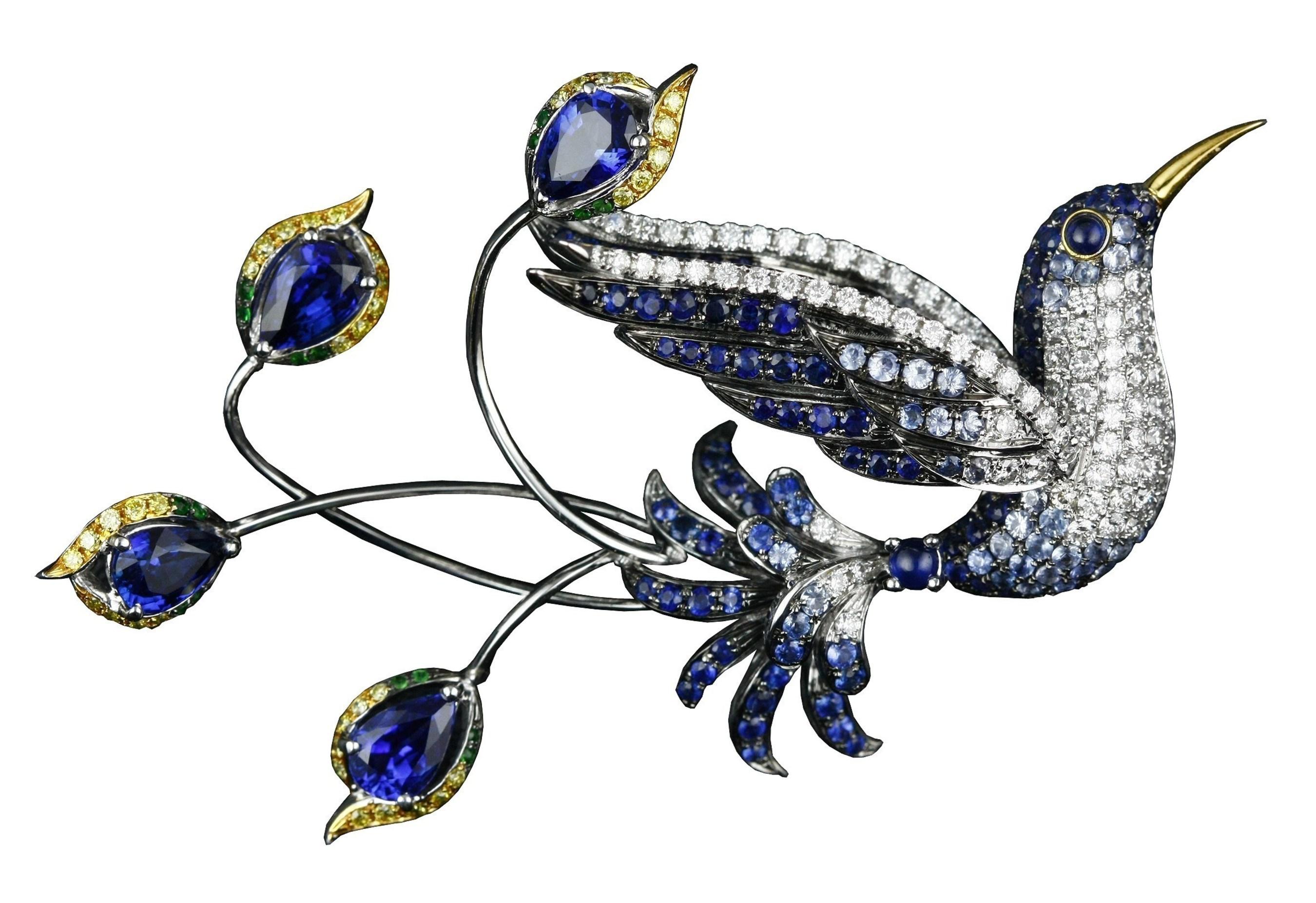 Designer Shih Chin Tiao Fairy Bird Of Happiness