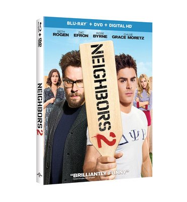 From Universal Pictures Home Entertainment: Neighbors 2: Sorority Rising