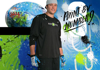 REPREVE's Paint By Number 9 with Matthew Stafford