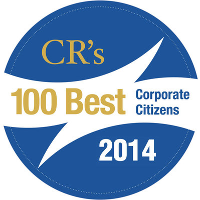 CR Magazine 100 Best Corporate Citizens 2014 logo.