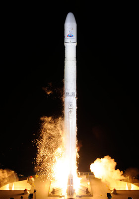 Lift-off of the Intelsat 21 Spacecraft.  (PRNewsFoto/Sea Launch AG)