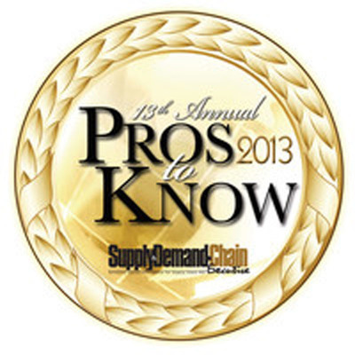 2013 Pros to Know Award.  (PRNewsFoto/Source One Management Services, LLC)
