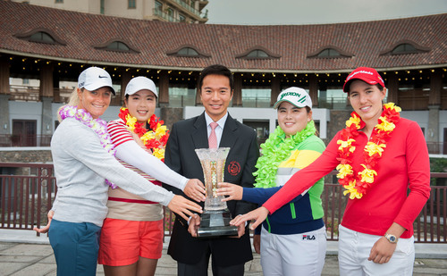 Golf Stars Enjoy Rest And Recuperation At Mission Hills Haikou.  (PRNewsFoto/Mission Hills China)