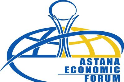 Astana Economic Forum Logo (PRNewsFoto/Astana Economic Forum)