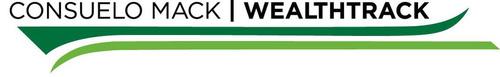 Consuelo Mack WealthTrack logo. (PRNewsFoto/WNET) (PRNewsFoto/WNET)