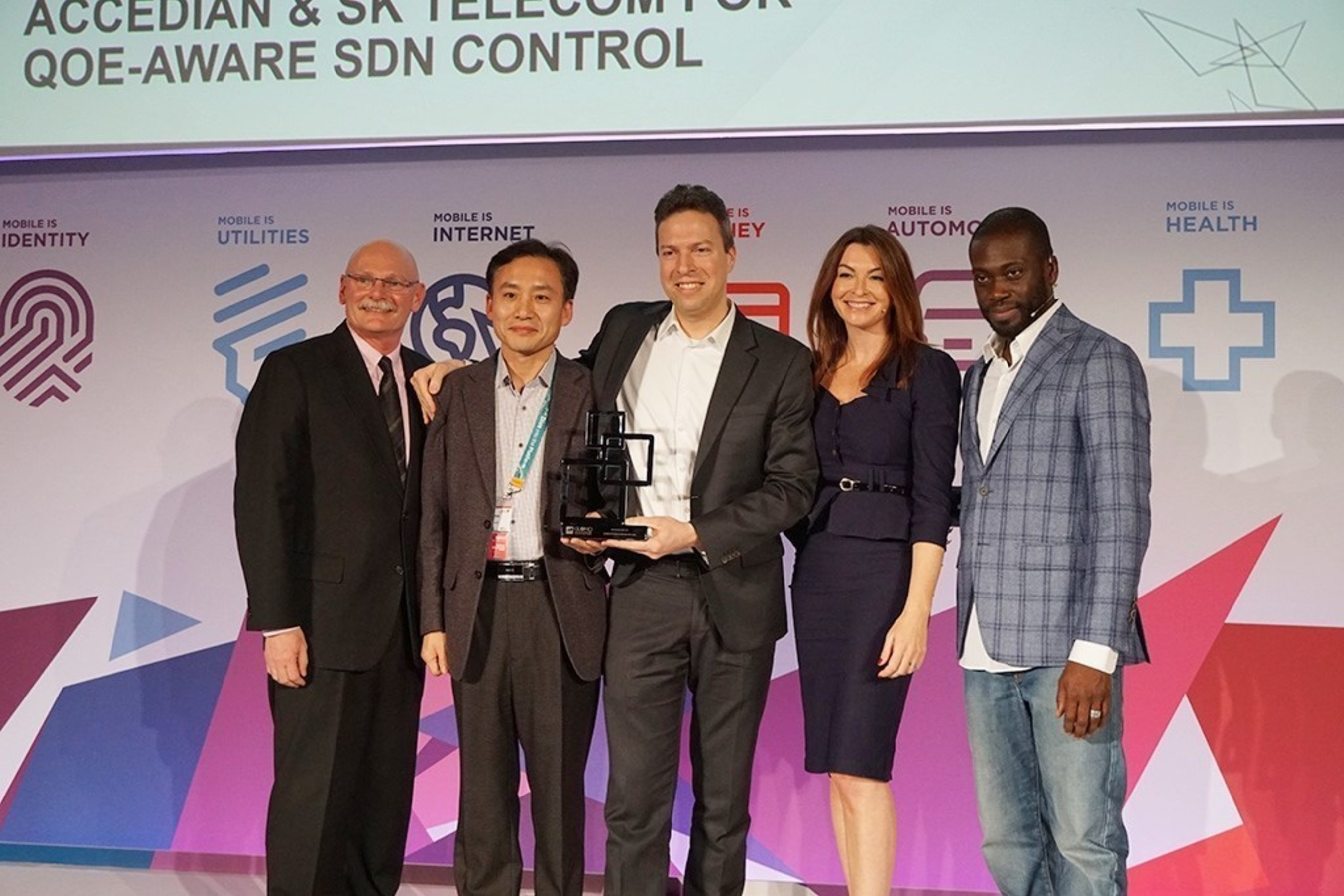 SK Telecom and Accedian win GSMA Global Mobile Awards 2016