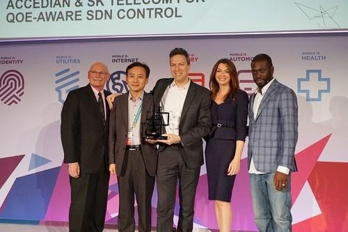 SK Telecom and Accedian win GSMA Global Mobile Awards 2016