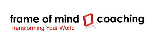 Frame of Mind Coaching logo. Frame of Mind is a company that specializes in coaching highly-motivated, ...