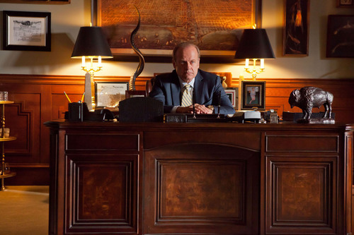 "Starz Entertainment has ordered up a second season of the upcoming STARZ Original series, ""Boss,"" prior to its October 21 series premiere on STARZ. Pictured is star Kelsey Grammer as the mayor of Chicago, Tom Kane.  (PRNewsFoto/Starz Entertainment, Chuck Hodes)"