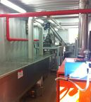 Applied machine installed in treatment plants