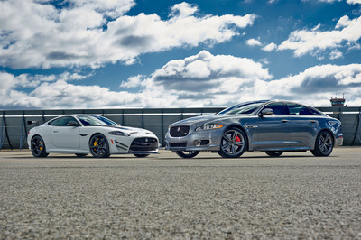Jaguar Expands R Performance Lineup With Two Ultra Dynamic New Models Making Global Debut at the 2013 New York International Automobile Show. (PRNewsFoto/Jaguar) (PRNewsFoto/JAGUAR)