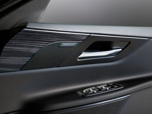 Jaguar XE door trim assembly, an example of where filled polypropylenes are currently used at Jaguar Land Rover (PRNewsFoto/Luxus Limited)